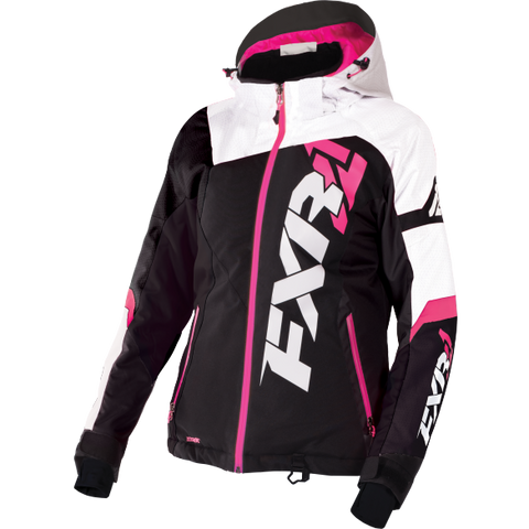 FXR Revo X Womens Jacket Black/White/Fuchsia