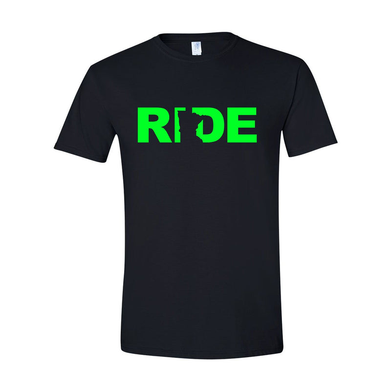 Ride MN Tee Black/Green