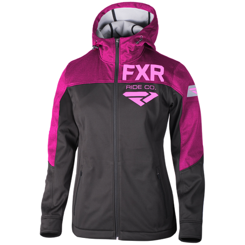 FXR Ride Co Womens Softshell Berry