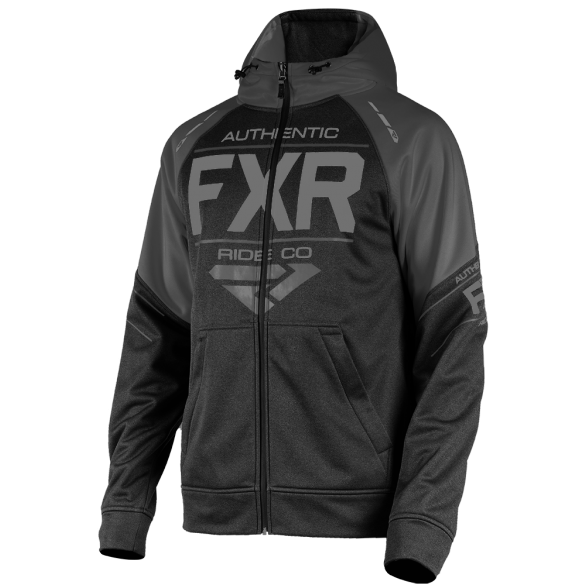 FXR Ride Tech Zip Hoody Black Ops