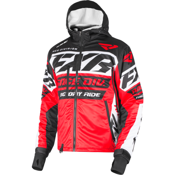 FXR RRX 19 Jacket Black Red