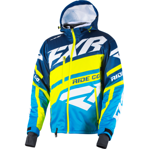 FXR RRX 19 Jacket Blue HiVis