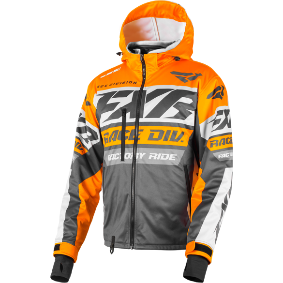 FXR RRX 19 Jacket Charcoal Orange