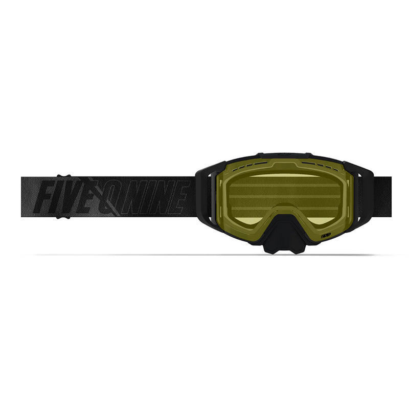 509 Sinister X6 Goggle Black with Yellow
