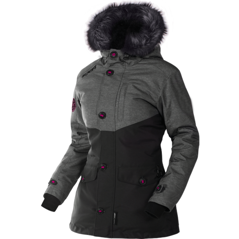 FXR Svalbard Womens Parka Heather/Black