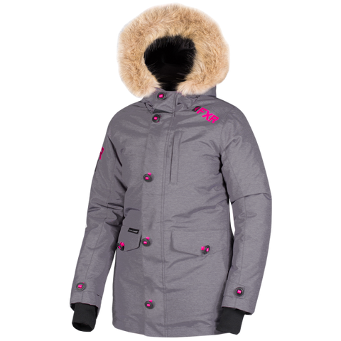 FXR Svalbard 2019 Womens Parka Heather Fuchsia