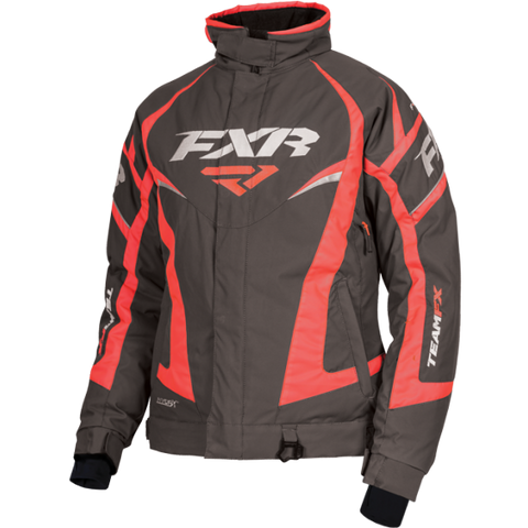 FXR Team Womens Jacket Char Elec Tang