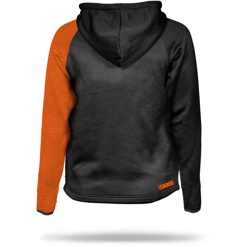 509 Tech Zip Fleece Orange/Gray