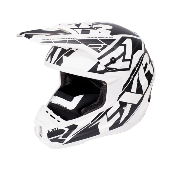 FXR Torque Core Helmet White/Black