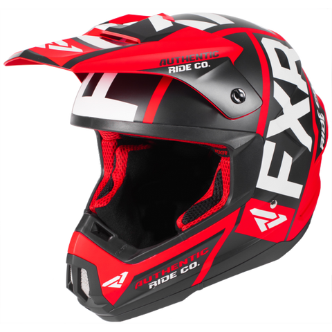 FXR Torque Evo 2019 Helmet Black Red
