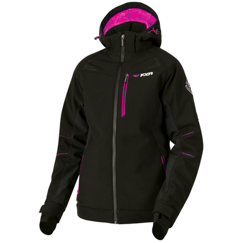 FXR Vertical Pro 2019 Womens Insulated Softshell Black
