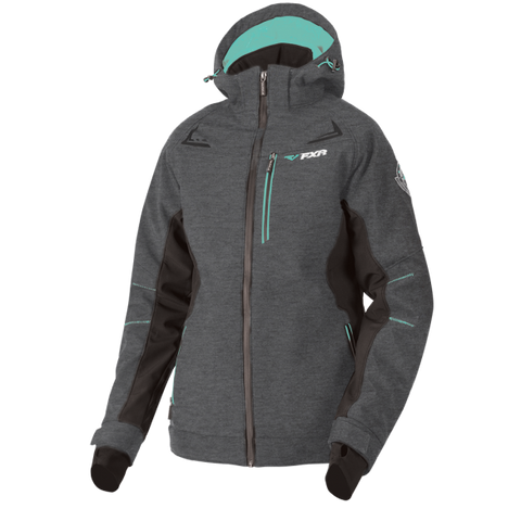 1a01bd2c FXR Vertical Pro 2019 Womens Insulated Softshell Heather