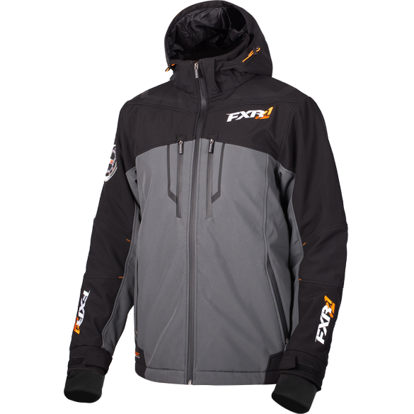 FXR Vertical Pro Insulated Softshell Charcoal