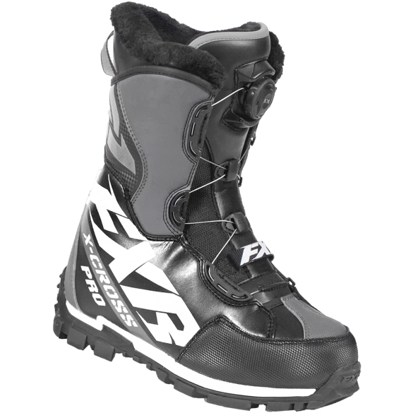 FXR X Cross Pro Boa Boot Black