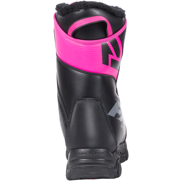 FXR X Cross Speed Boot Black Fuchsia