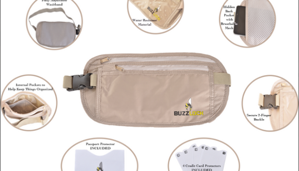 How To Properly Use A Money Belt