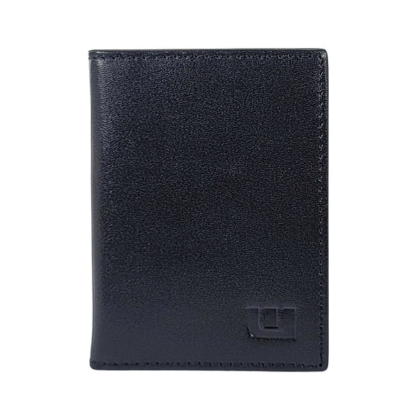 rfid protected black wallet -