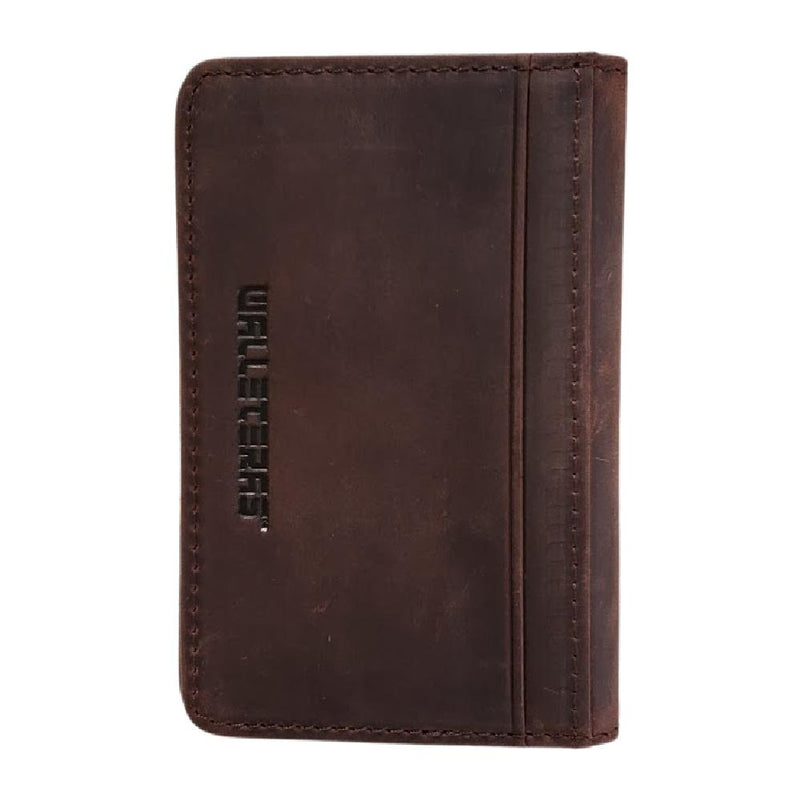 RFID Front Pocket Wallet - Double Espresso T Front Pocket Wallet WALLETERAS