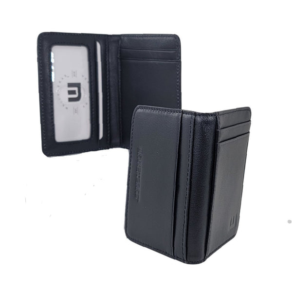 Front Pocket Wallet with RFID Protection and ID Window - S1 RFID BiFold Front Pocket Wallet WALLETERAS