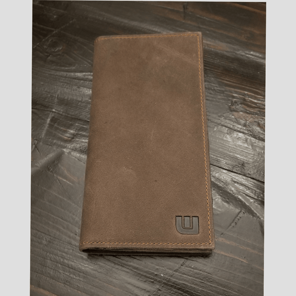 Long Wallet in Distressed Leather - LW2 Long wallets WALLETERAS Taupe