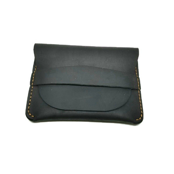 Minimalist Crazy Horse Leather Credit Card Holders Credit Card Holders WALLETERAS