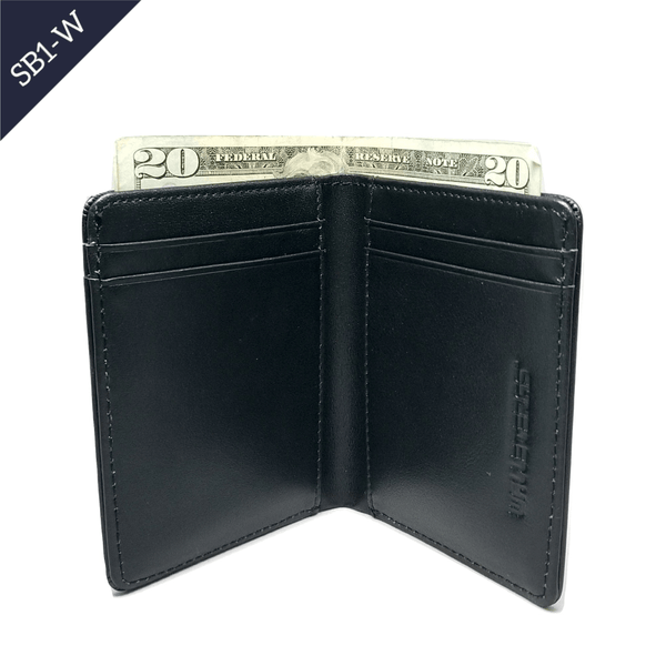 Bifold Leather Wallet w/RFID and ID Window - SB1 Bi-Fold wallet WALLETERAS