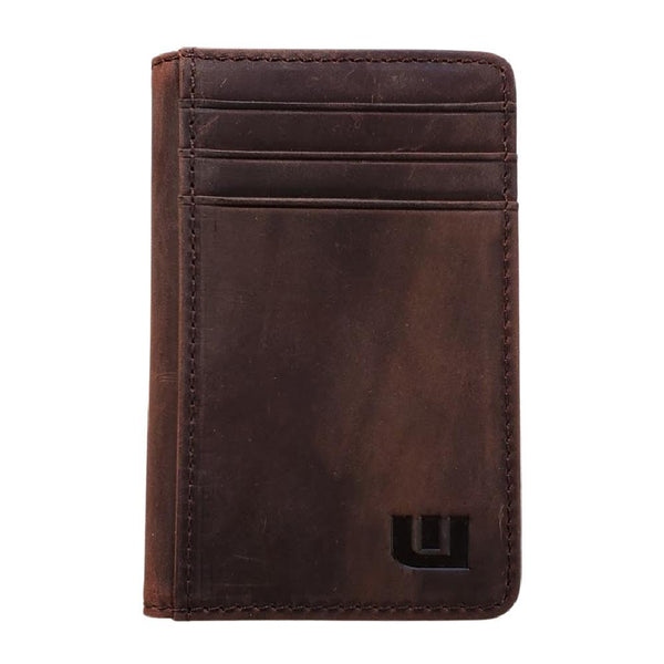 RFID Front Pocket Wallet - Double Espresso T Front Pocket Wallet WALLETERAS Coffee T Yes