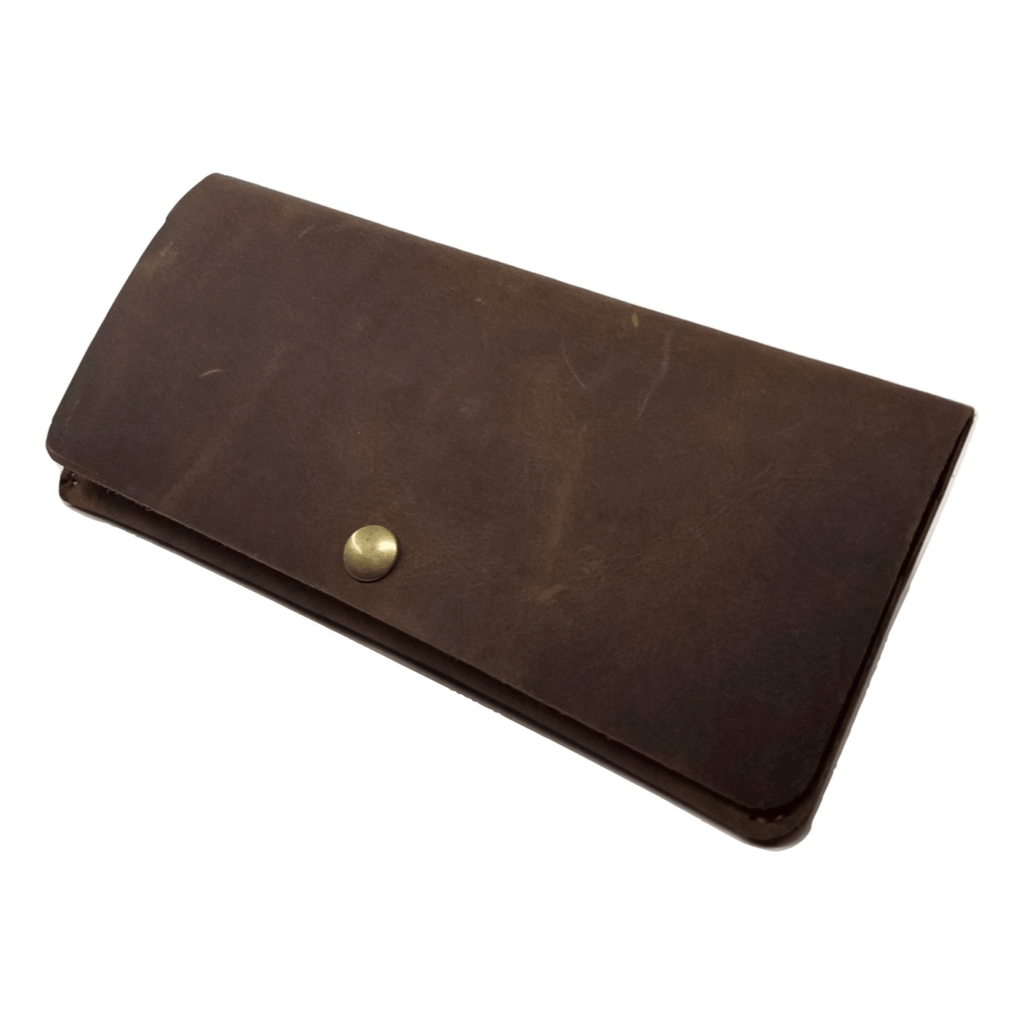 Long Wallet in Saddleback Leather - LWS Long wallets WALLETERAS Coffee