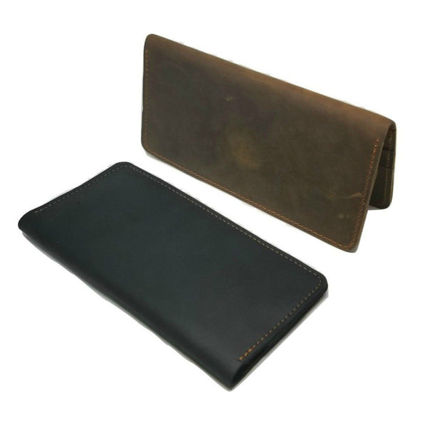 Long Wallet in Crazy Horse Leather- WALLETERAS