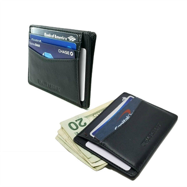 RFID Front Pocket Wallet and Card Holder - Otto RFID Credit Card Holder WALLETERAS