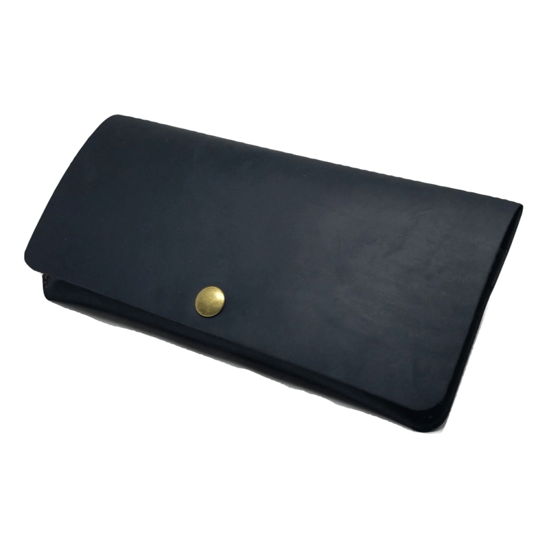 Long Wallet in Saddleback Leather - LWS Long wallets WALLETERAS Black