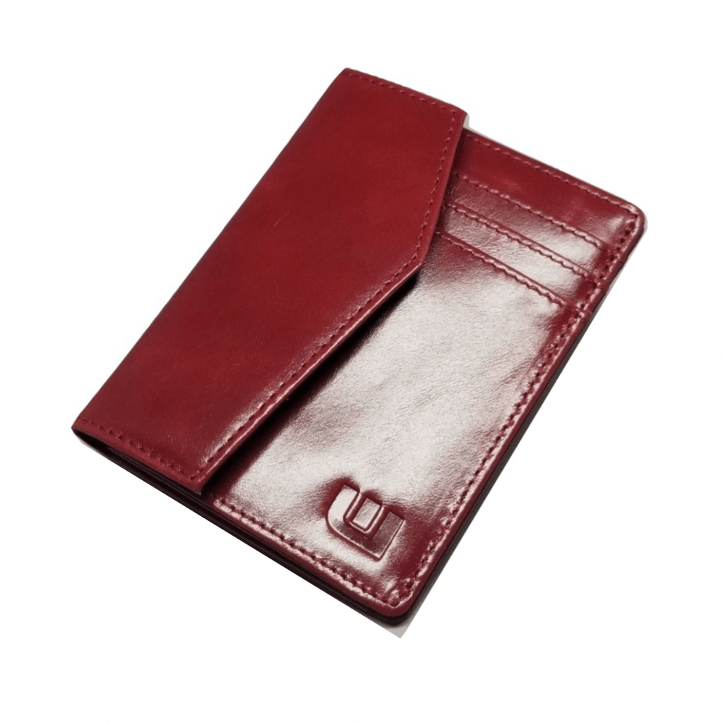 Leather Wallet For Women / Red Leather Wallet WALLETERAS