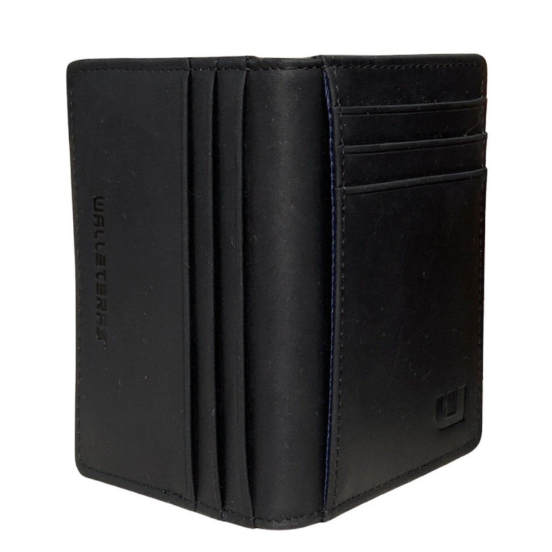 RFID Front Pocket Wallet - Double Espresso T Front Pocket Wallet WALLETERAS Black CHL T1-N No