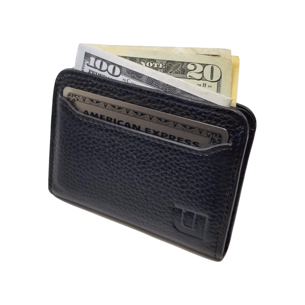 full-grain leather wallet