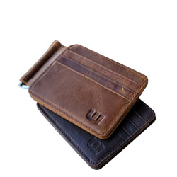 Front Pocket Wallet and Credit Card Holder with Money Clip - MC12 Money Clip WALLETERAS