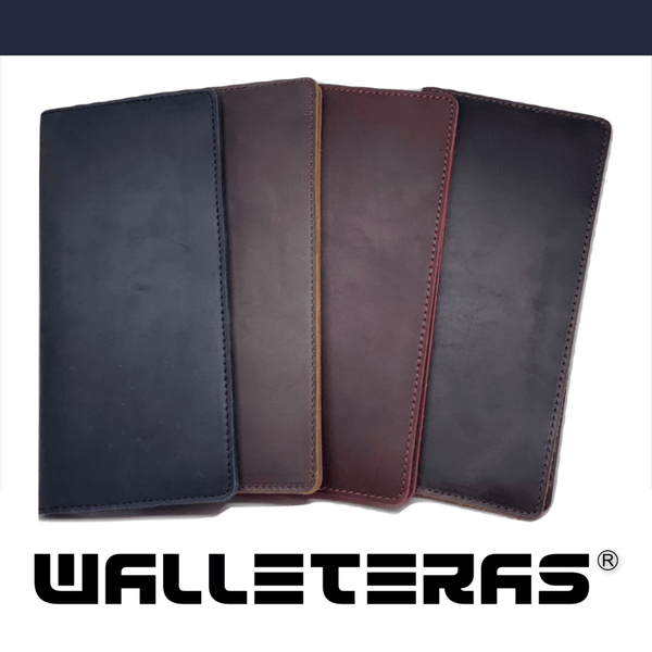 Long Wallet in Crazy Horse Leather Long wallets WALLETERAS