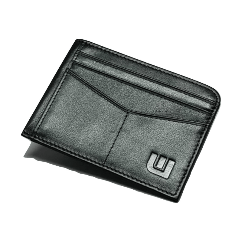 Black Card Holder with ID window