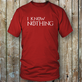 Game of Thrones - I Know Nothing T Shirt