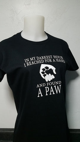 In My Darkest Hour - Ladies Tee