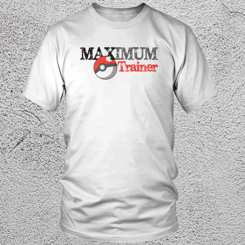 Maximum Pokemon Trainer Youth T Shirt