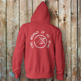 Parkour-The World is My Gym Zip Up Hoodie