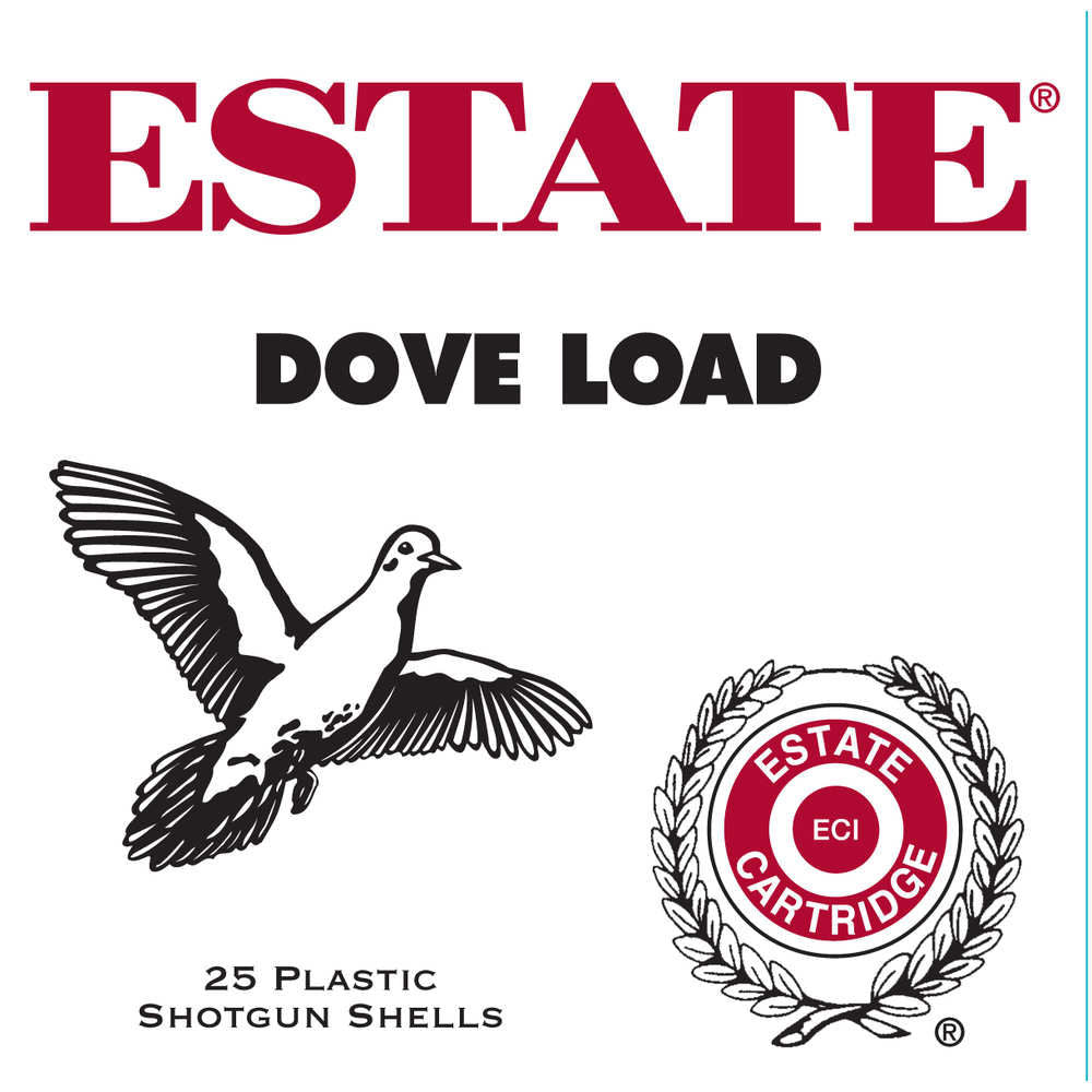 Estate Cartridges 12GA Ammo None 7.5