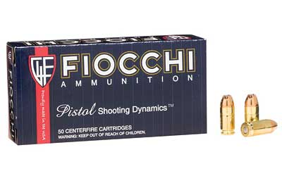Fiocchi Ammunition None Ammo None Jacketed Hollow Point