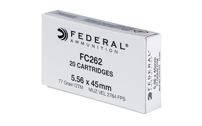 Federal None Ammo None Boat tail Hollow Point