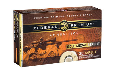 Federal None Ammo None Berger