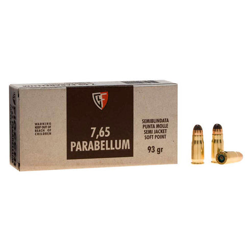 Fiocchi Ammunition None Ammo 93GR Jacketed Soft Point