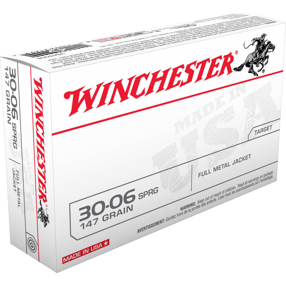 Winchester None Ammo 147GR Full Metal Jacket