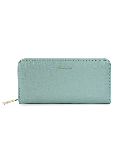 Alix Mint Casual Wallet
