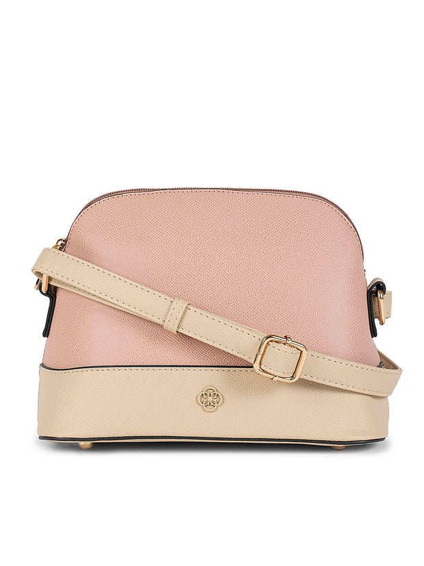 Dannielynn Light Pink Sling Bag
