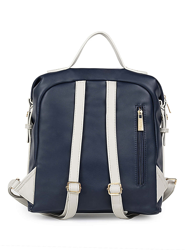 Brielle Trendy Navy Backpack 2